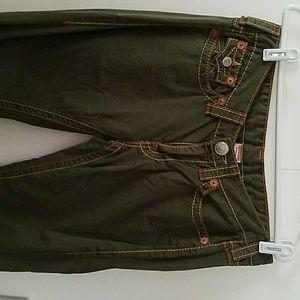 True Religion Jeans Pants Flare Bottoms 31 Lk New